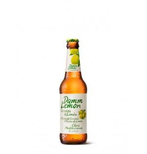 Cerveza Estrella Damm Lemon Botella 3,2% 330 ml caja x 24