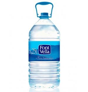 Agua Font Vella Natural 6.25L