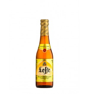 Cerveza Leffe Blonde6.6% Botella 33cl