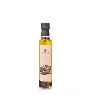 Aceite de Oliva Virgen Extra con Pimientas 250 ml