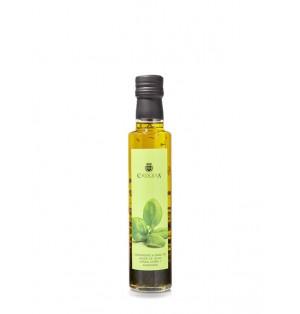 Aceite de Oliva Virgen Extra con Albahaca 250 ml