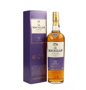 Whisky Macallan fine oak 18yo 700 ml