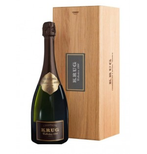 Champagne Krug Collection wooden case 750 ml