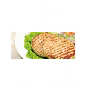 Burger Mixta Pollo/Cerdo  85 gr /Aprox Eurofrits 6 Bx1000 gr