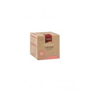 Cafe Expresso Biodegradable capsula 5 g Cjx80 capsula Torrie