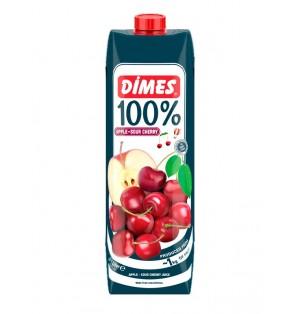 Jugo DIMES Premium Tetra Extra 1 100% Manzana & Cereza acida