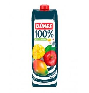 Jugo DIMES Premium Tetra Extra 100% Manzana & Mango 1 L