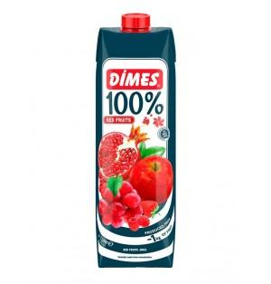 Jugo DIMES Premium Tetra 100% Redfruitmix 1 L