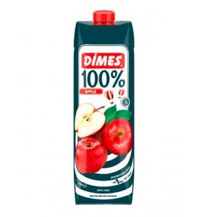 Jugo DIMES Premium Tetra 100% manzana 1 L