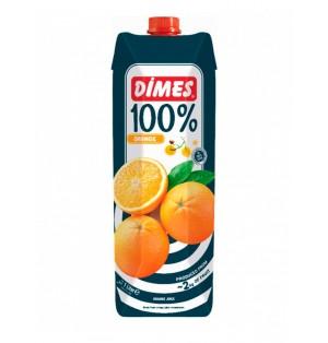 Jugo DIMES Premium Tetra Extra 100% Naranja 1 L