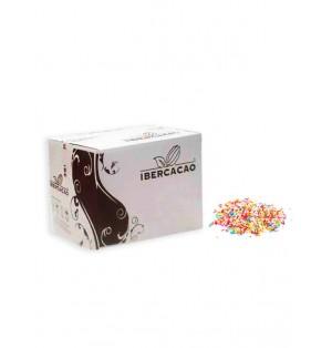 Granillos de Chocolate Colores Surtidos caja de 5 kg
