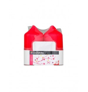 2 velas rosa 48x95mm Domedia