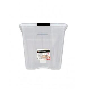 Caja con tapa soft clips 60L  Domedia