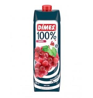 Jugo DIMES Premium Tetra 100% Uva Roja 1 L