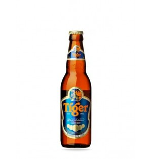 Cerveza Tiger 5.0% Botella 33 cl