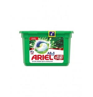 Deterg Ariel 3 en 1 pastilla 14 u.Original 410 gr