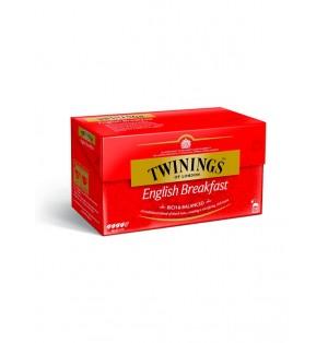 Infusion Te Twinings  English Breakfast 25U