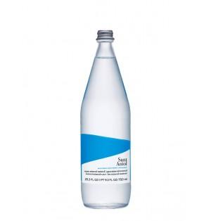 Agua Natural San Aniol Bot. cristal 750 ml