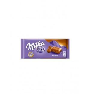 Tableta De Chocolate Milka Avellana 80 gr