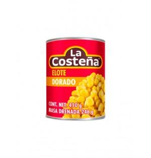 Elote dorado 24/410 g  La Costeña