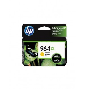 Toner HP 964XL 3JA56AL - Amarillo