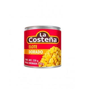 Elote dorado 24/220 g  La Costeña