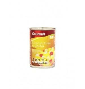 Coctel Frutas Gourmet Almibar 420G  240Esc.