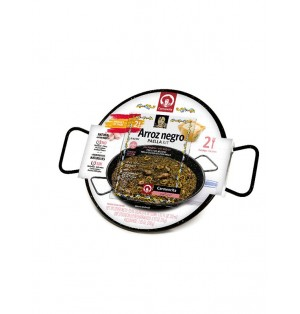 Set paella Arroz Negro (2 raciones) 255 g Carmencita