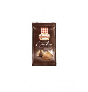 Magdalenas ARENAS Conchas Cacao/ avellanas BANDEJAS 6/200g